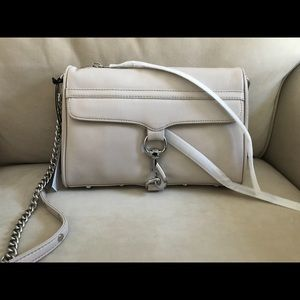 NEW Rebecca Minkoff Leather MAC Crossbody Handbag
